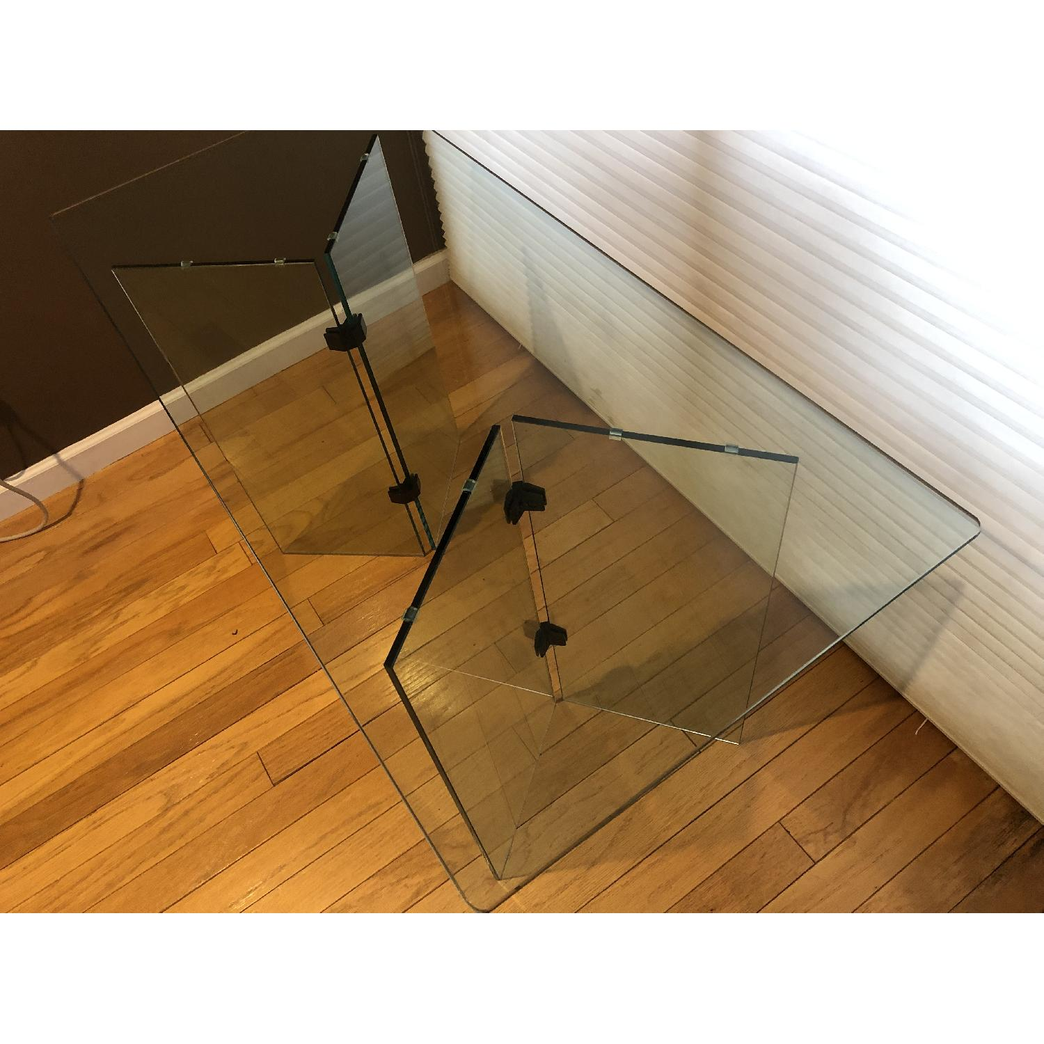 Glass Desk/Entry Table-2