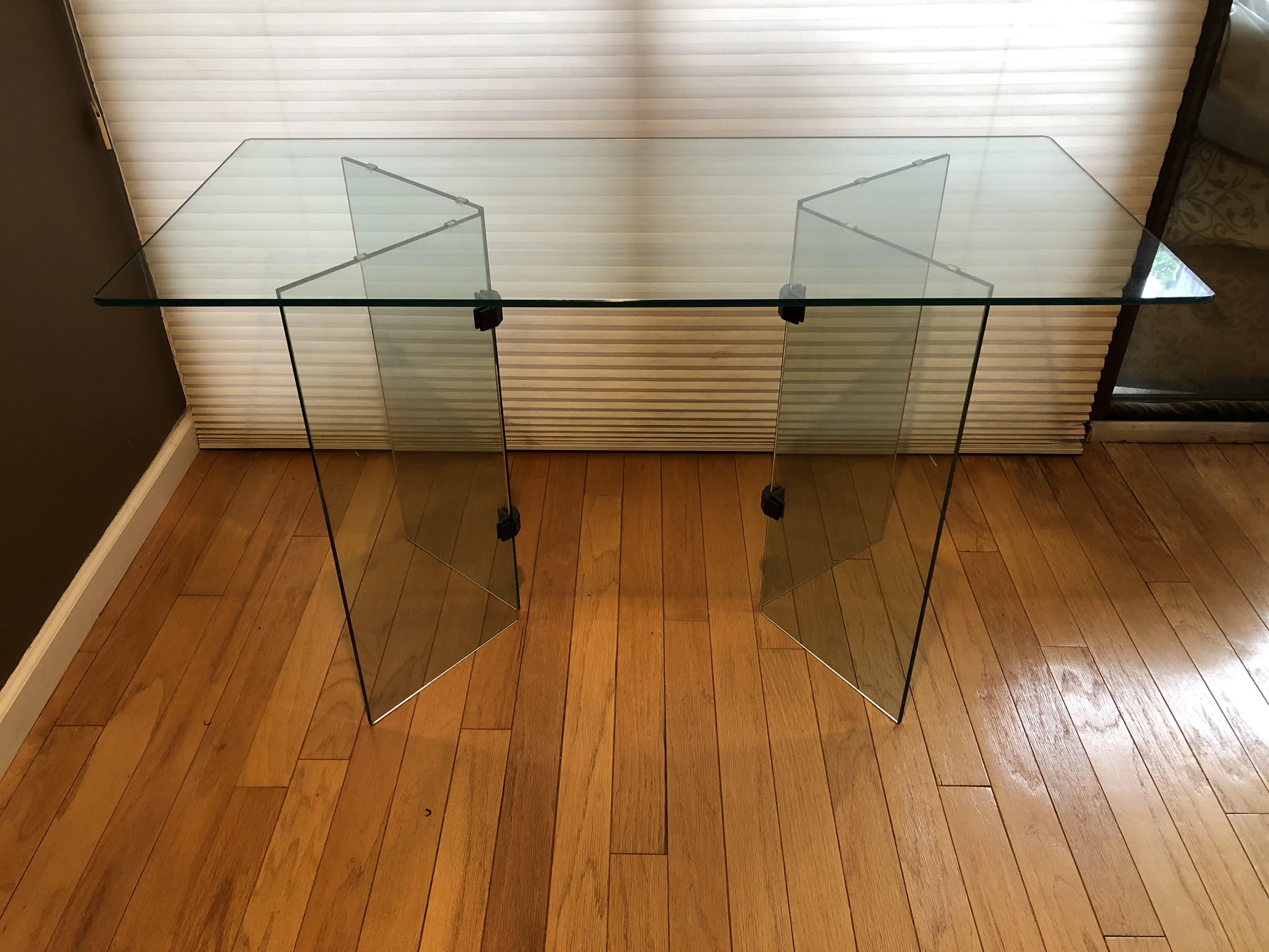 Glass Desk/Entry Table