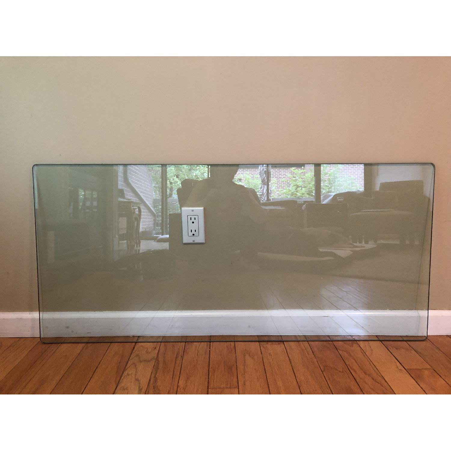 Glass Desk/Entry Table-5