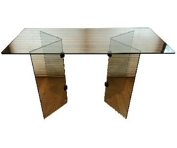 Glass Desk/Entry Table