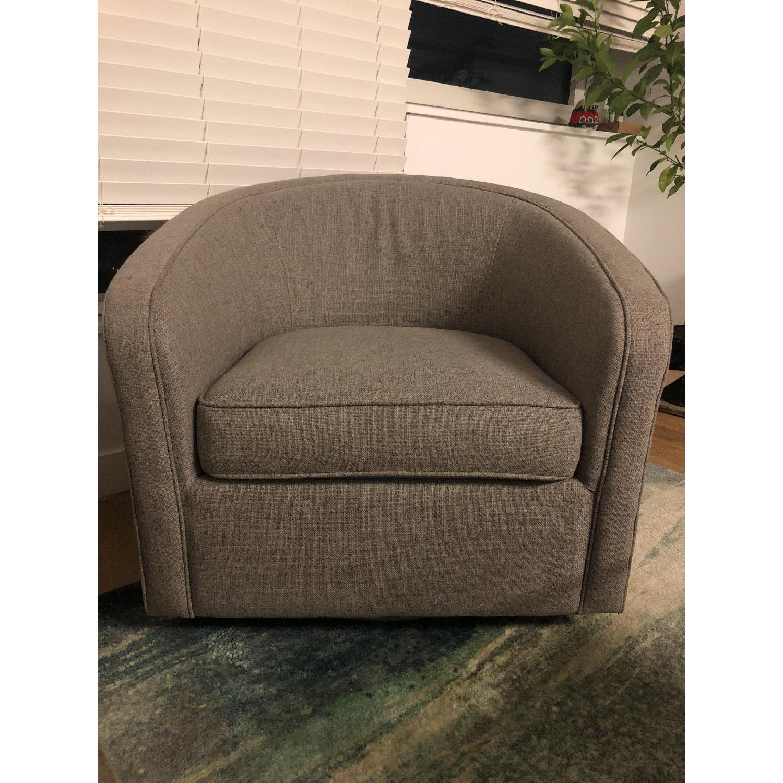 Room & Board Amos Swivel Chair - image-1
