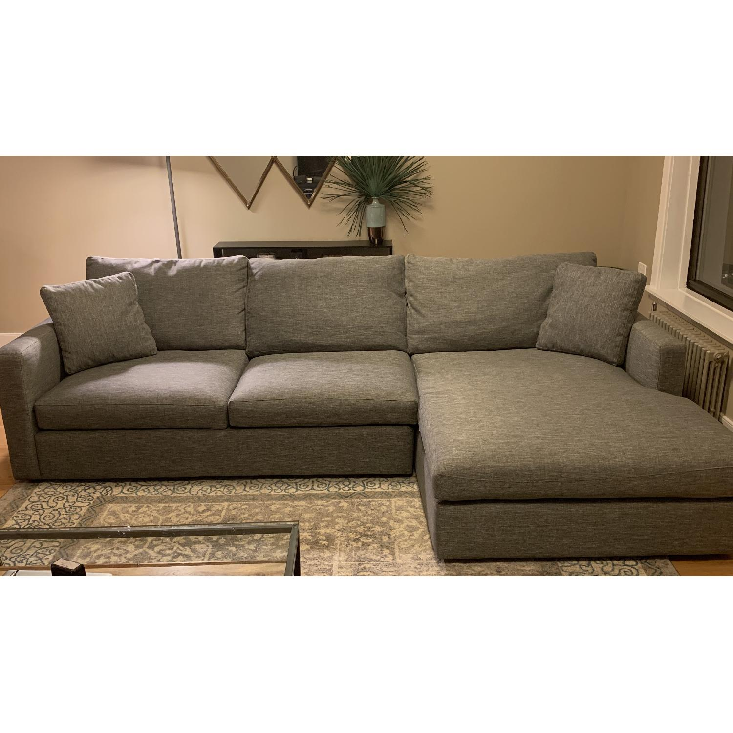 Lillian August Chris Oversized Sectional Sofa