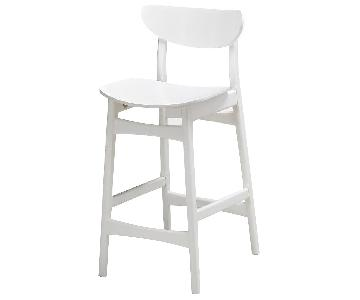 West Elm Classic Cafe Lacquer Bar Stool