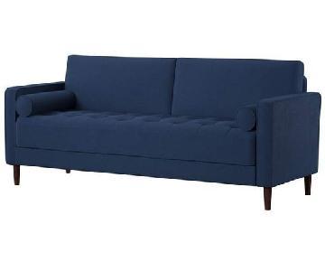 Mercury Row Garren Sofa w/ Toss Pillows