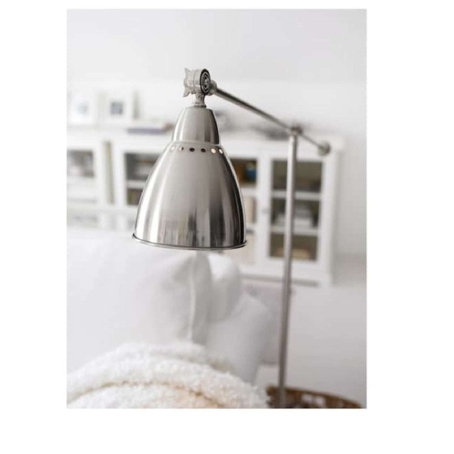 Silver Metal Architects Floor Lamp - image-2