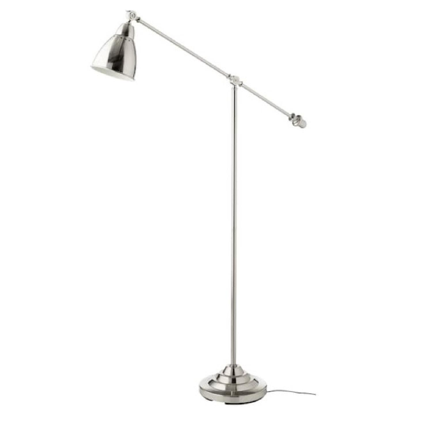 Silver Metal Architects Floor Lamp - image-0