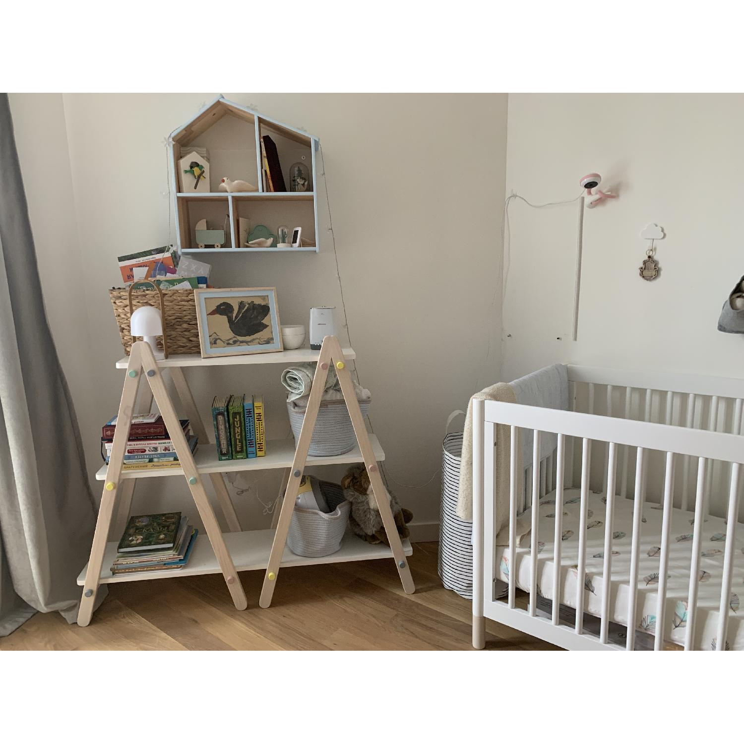 Babyletto Dottie 42 White Kids Bookcase-0