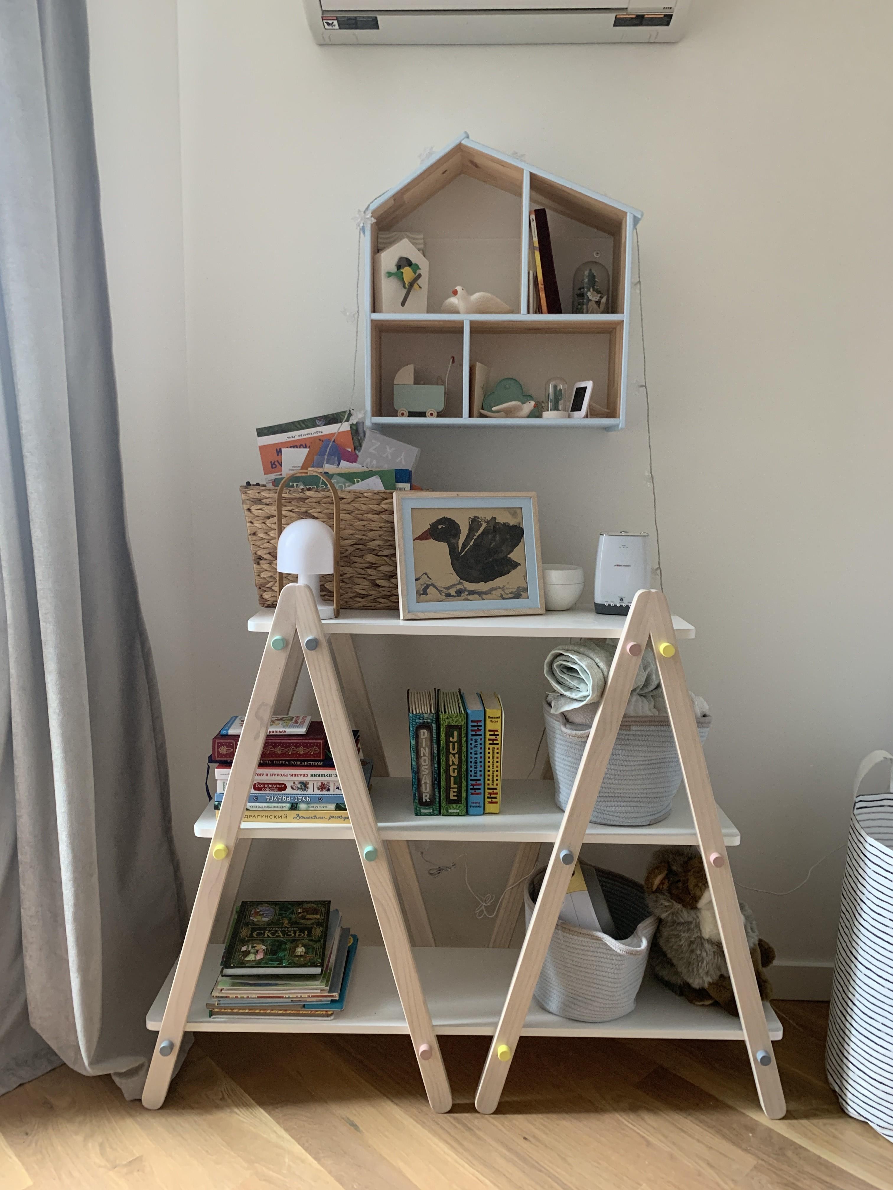 Babyletto Dottie 42 White Kids Bookcase