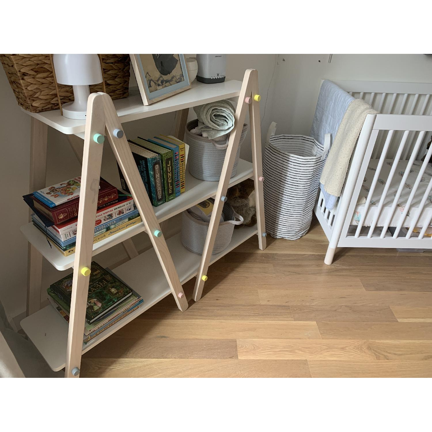 Babyletto Dottie 42 White Kids Bookcase-4
