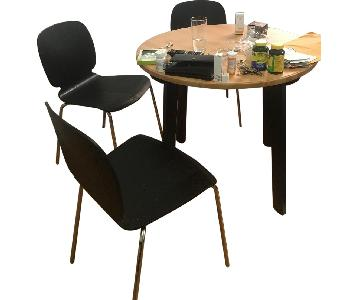 Ikea Gamlared Table w/ 3 Svenbertil Chairs