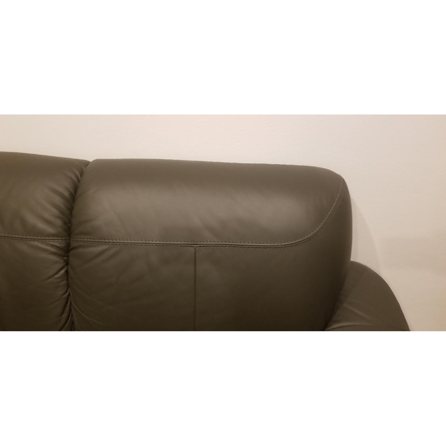 Ikea Timsfors Faux Leather Sectional Sofa - image-7