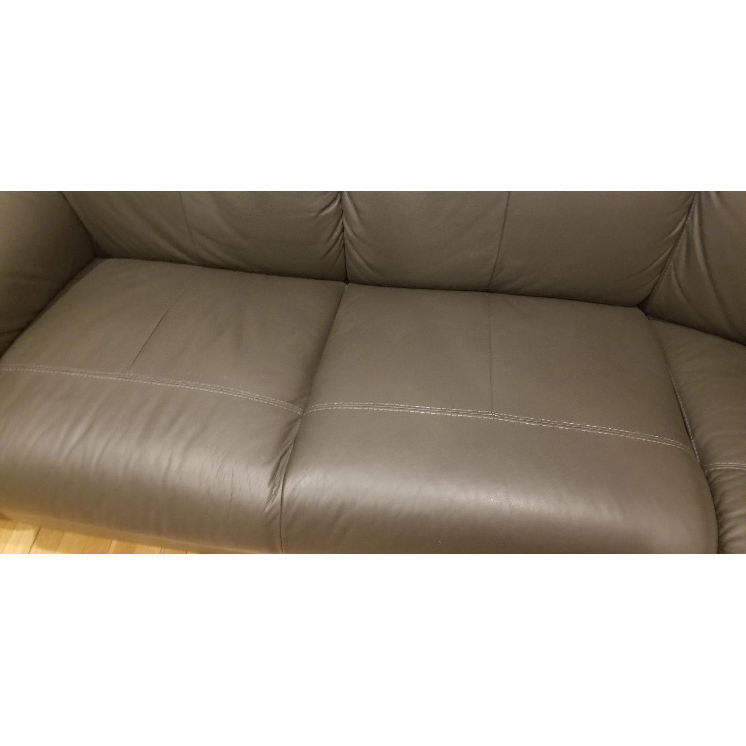 Ikea Timsfors Faux Leather Sectional Sofa - image-8