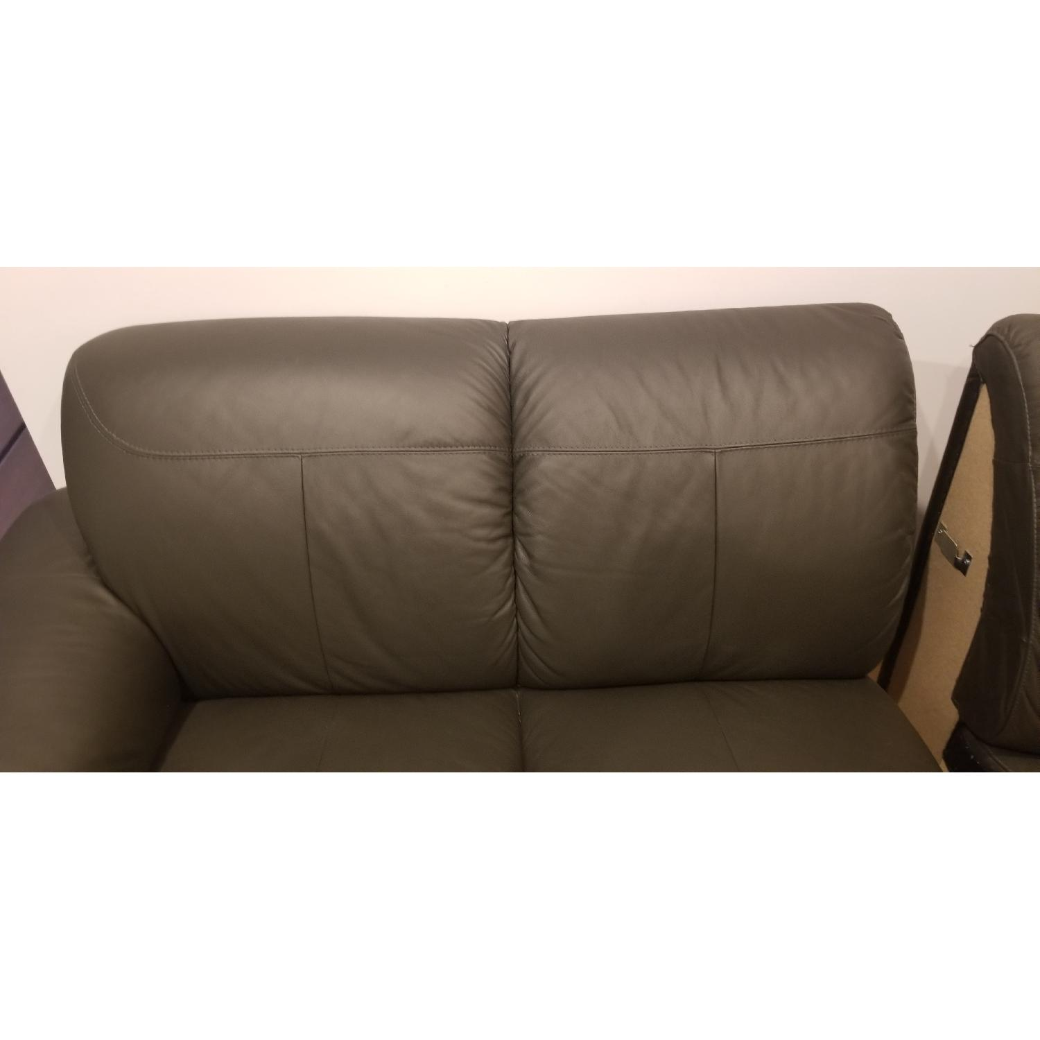 Ikea Timsfors Faux Leather Sectional Sofa - image-13