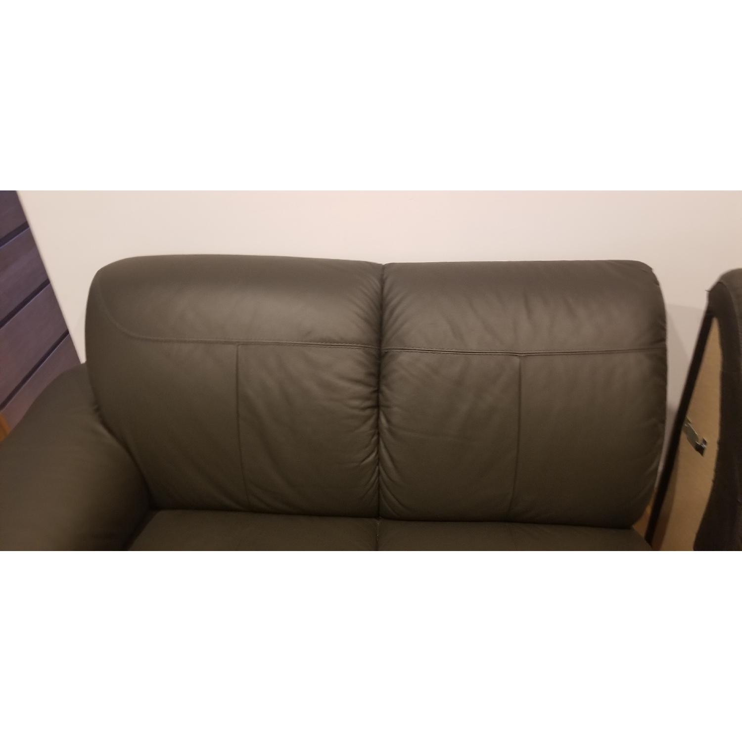 Ikea Timsfors Faux Leather Sectional Sofa - image-15