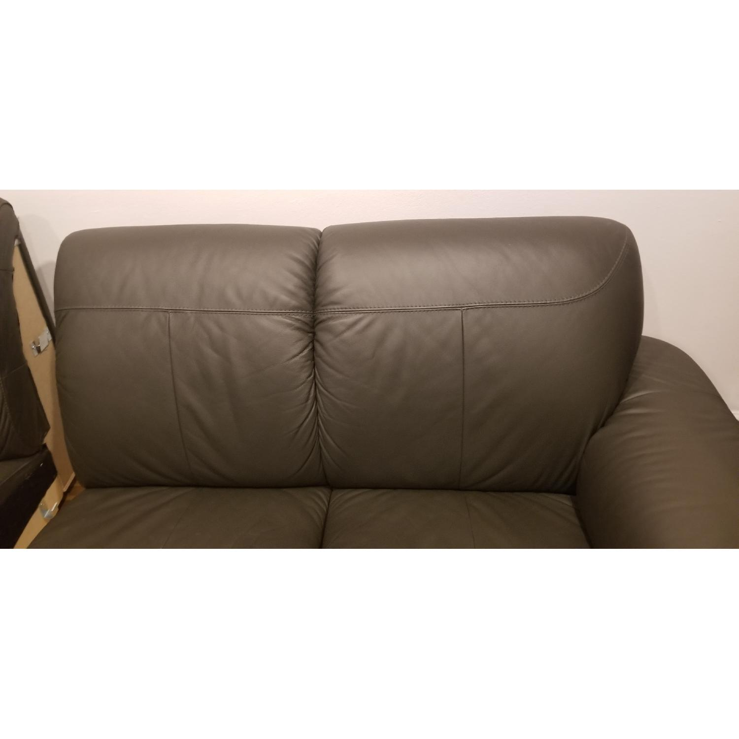 Ikea Timsfors Faux Leather Sectional Sofa - image-16