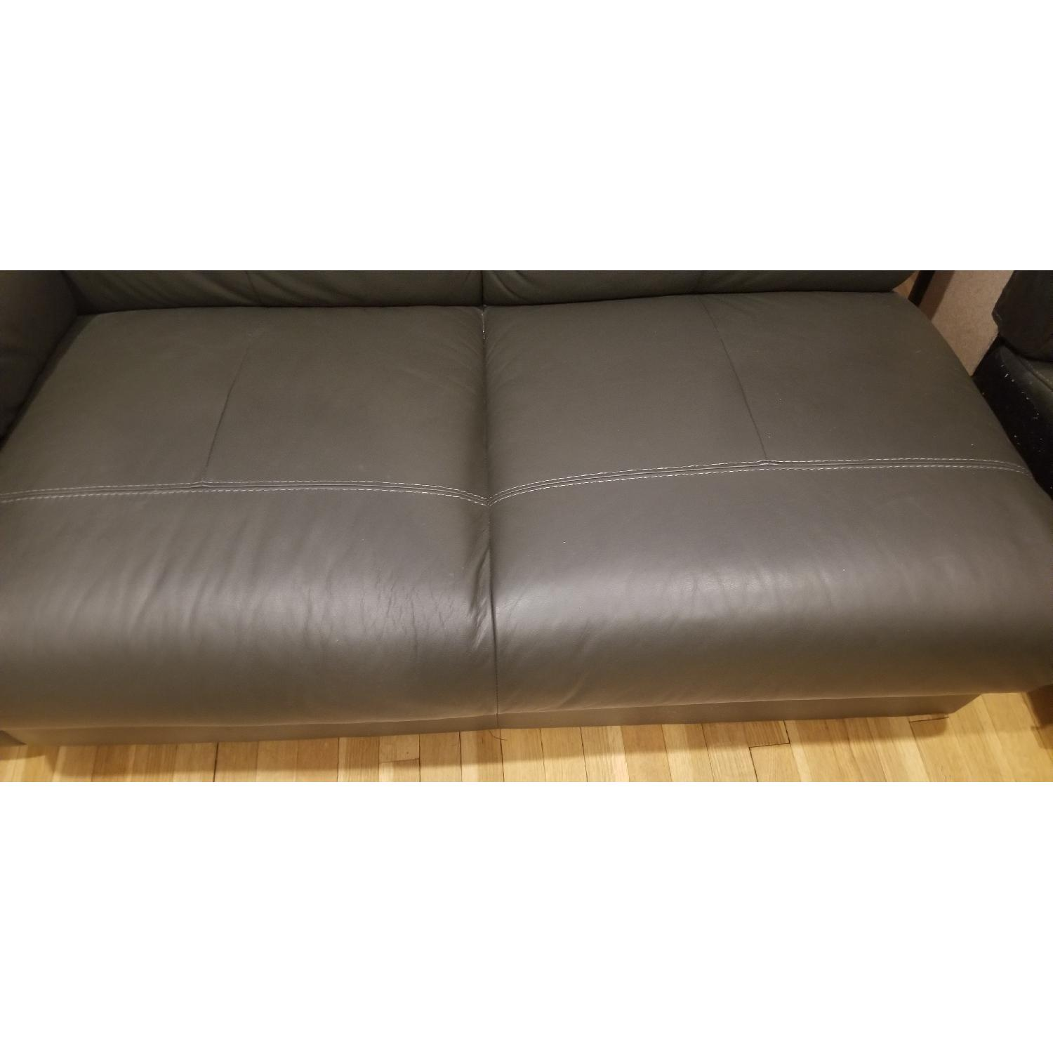 Ikea Timsfors Faux Leather Sectional Sofa - image-17