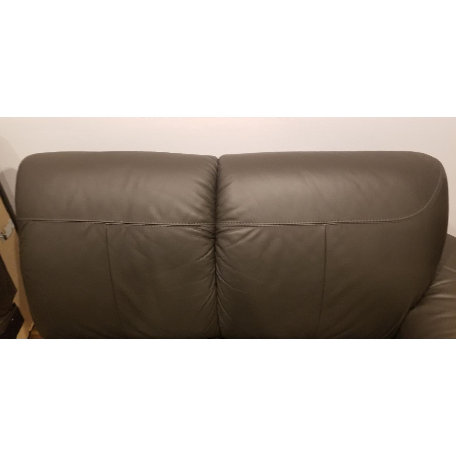 Ikea Timsfors Faux Leather Sectional Sofa - image-19