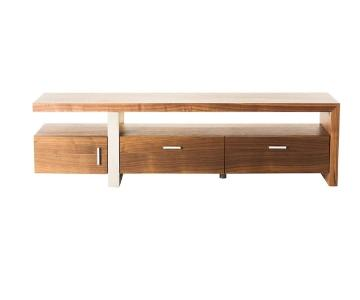Modern Contemporary Oslo Brown TV Bench & Storage