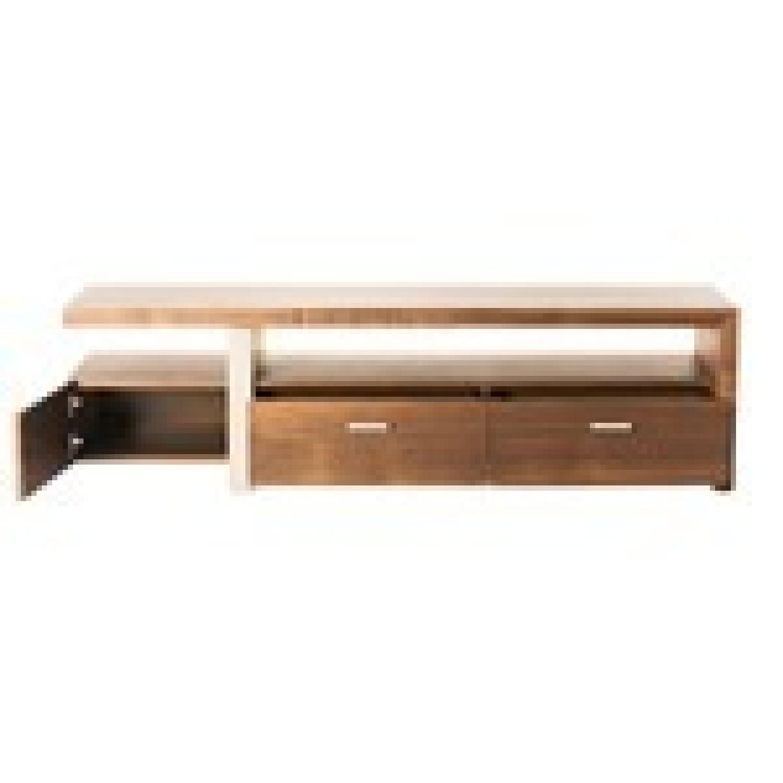 Modern Contemporary Oslo Brown TV Bench & Storage-0