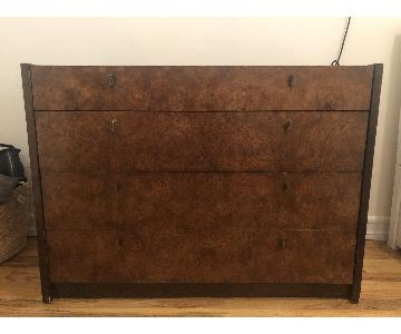 Mid Century Wood Dresser