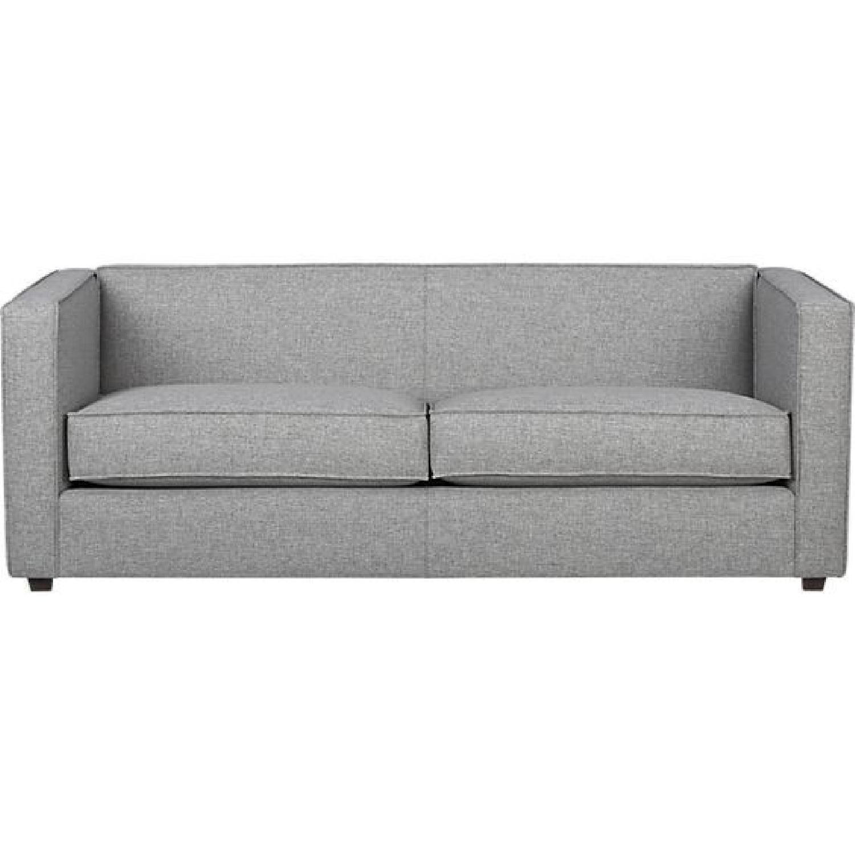 CB2 Club Sofa in Grey