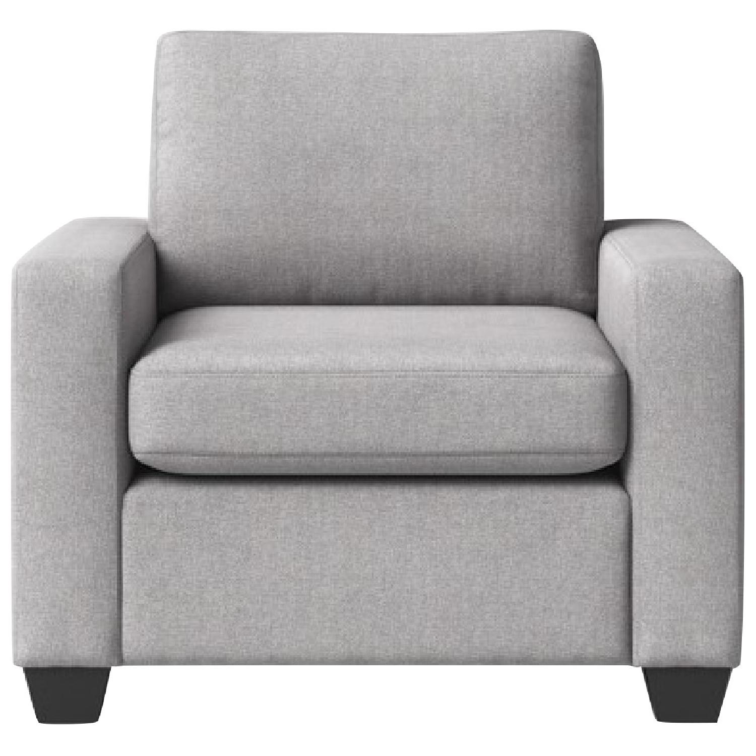 Target Threshold Barnstable Pillow Arm Swivel Chair