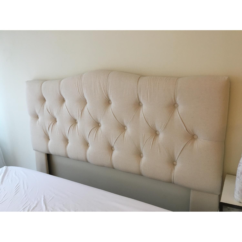 Three Posts Cleveland Upholstered Panel Headboard - image-3