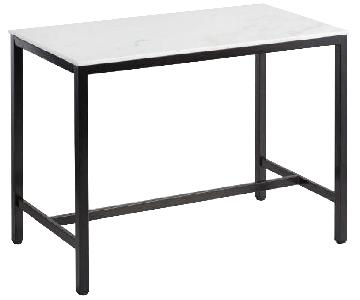 World Market Blaine Marble Top Table