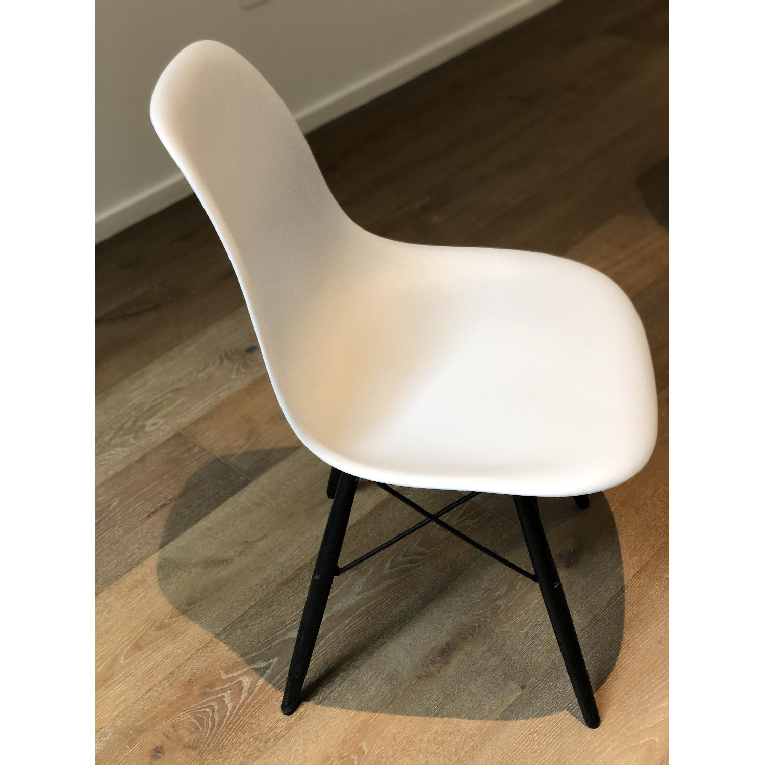 Eames Molded Plastic DSW Dowel-Leg Side Chair - image-2