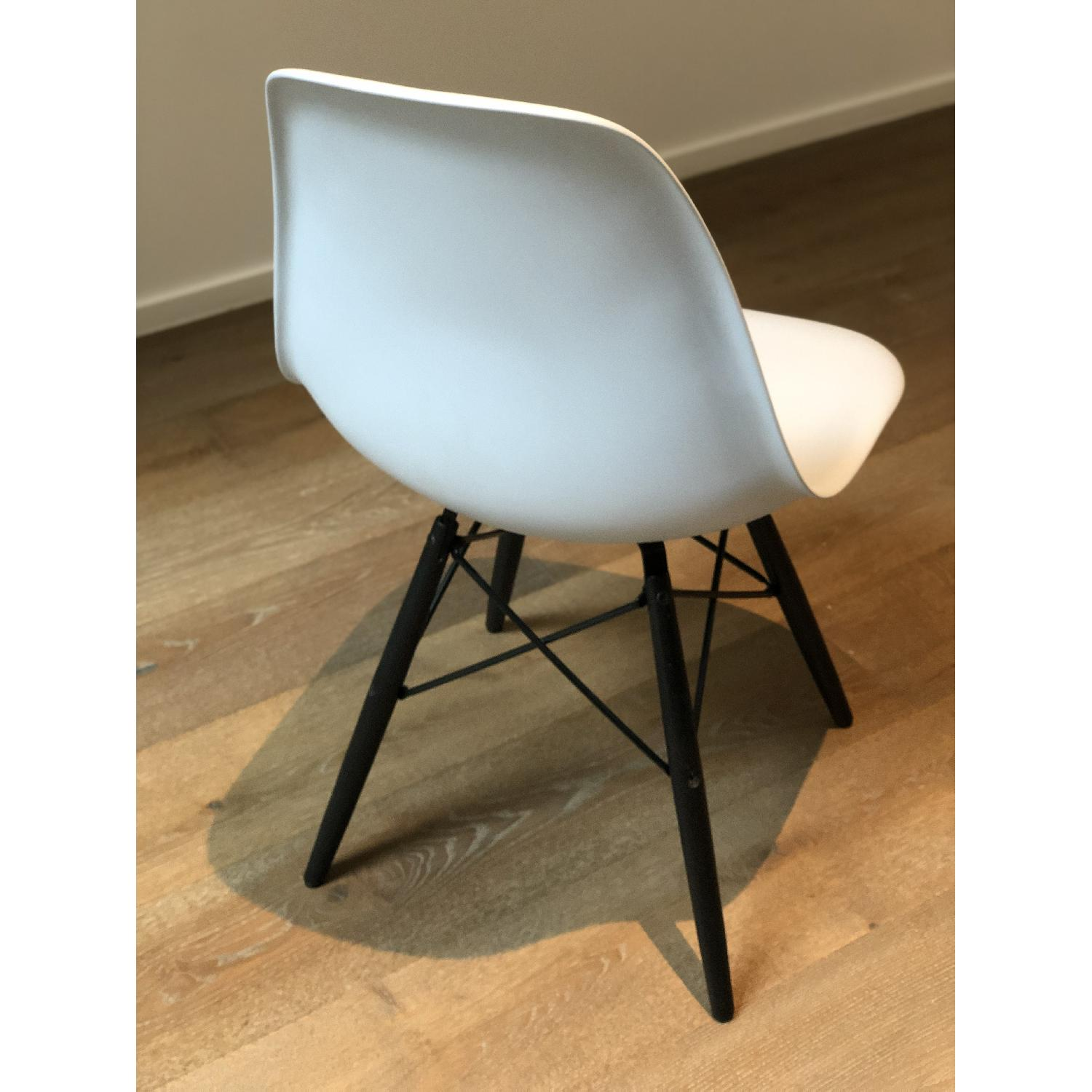 Eames Molded Plastic DSW Dowel-Leg Side Chair - image-3