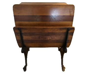 Vintage Wood & Iron Desk