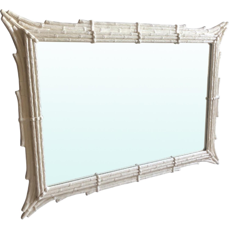 Antique White Mirror - image-0