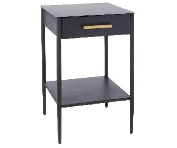 West Elm Metalwork Nightstand