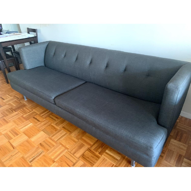 CB2 Avec Sofa in Dark Grey-0