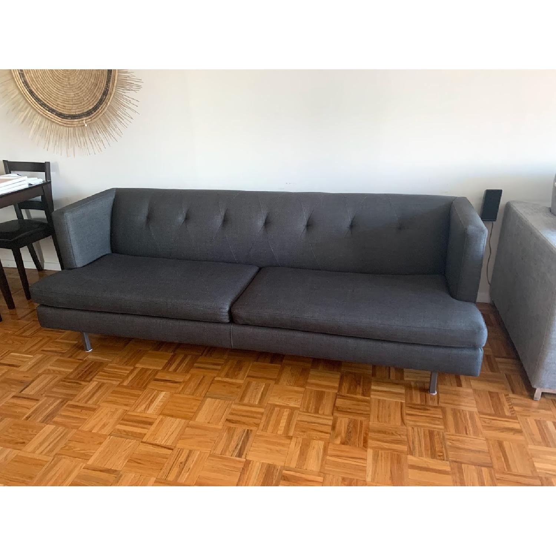 CB2 Avec Sofa in Dark Grey-1