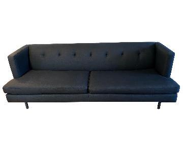 CB2 Avec Sofa in Dark Grey