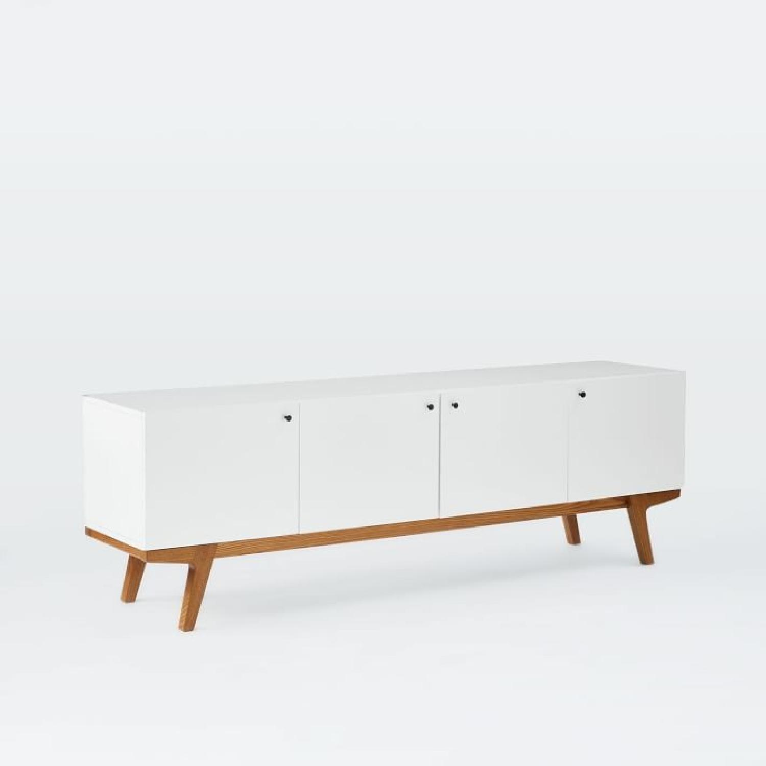West Elm Modern Media Console - image-1
