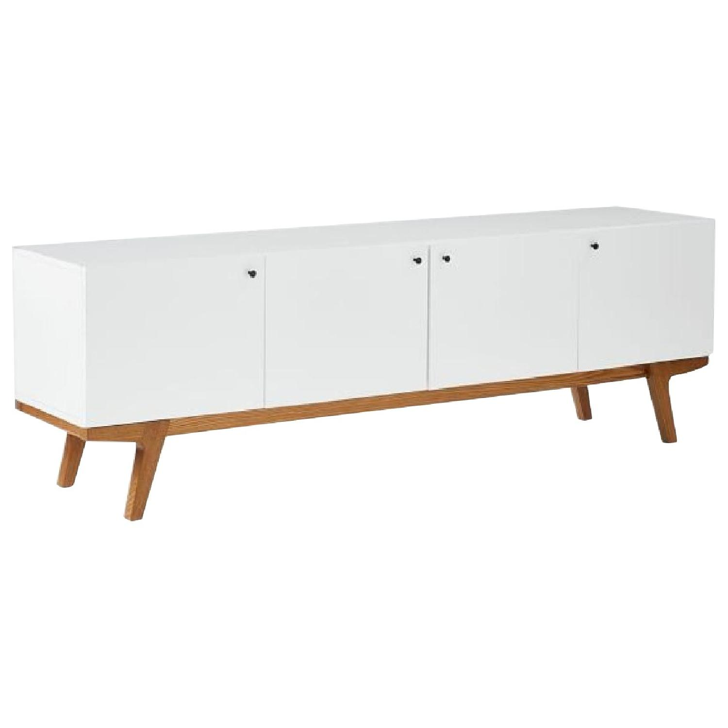 West Elm Modern Media Console - image-0
