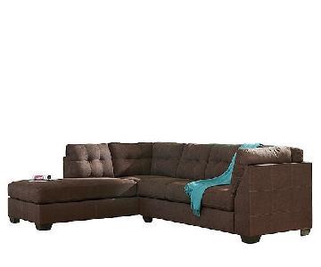 Raymour & Flanigan Desmond 2-Piece Sectional Sofa