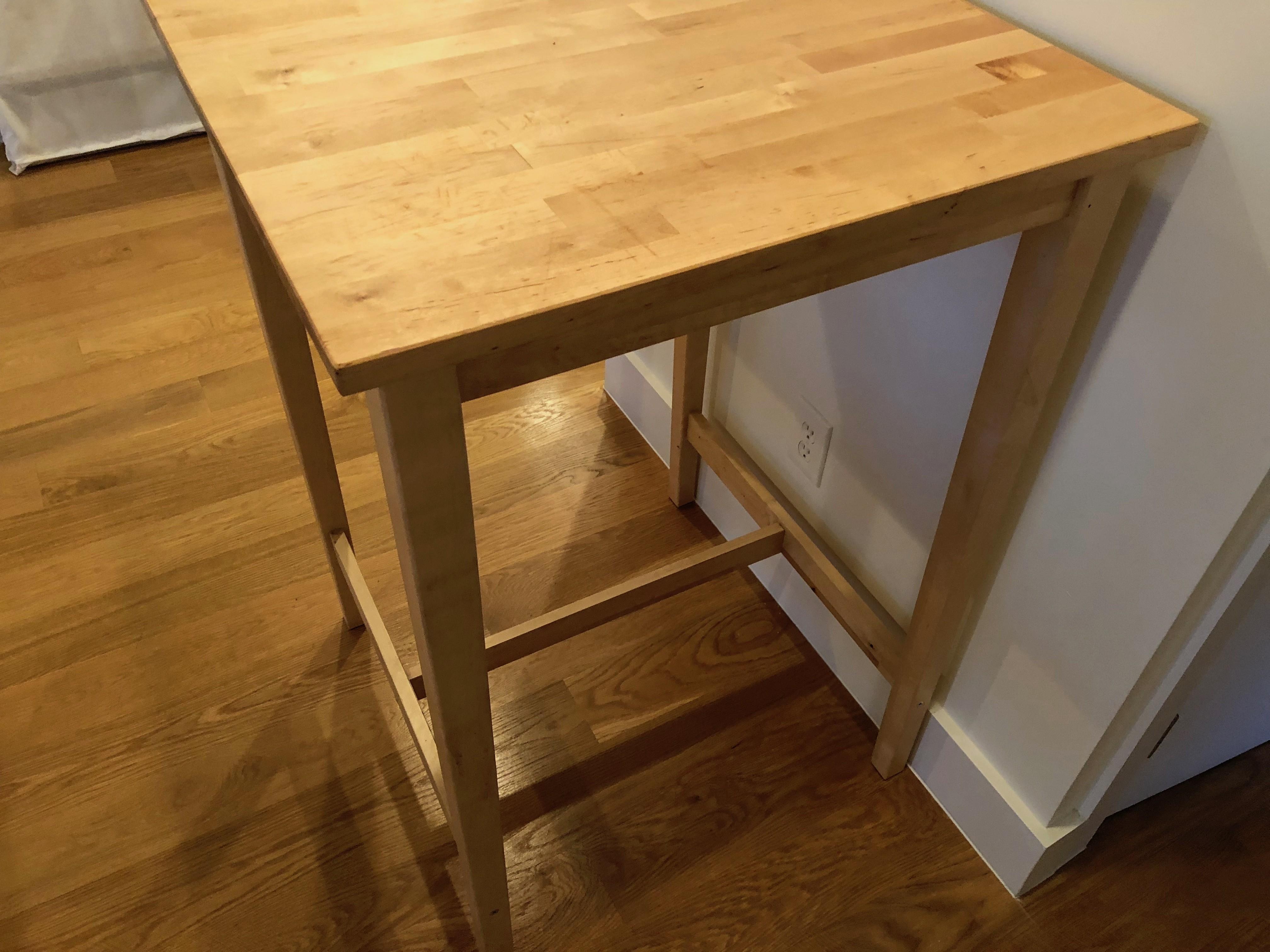 Ikea Bjorkudden Counter Height Table