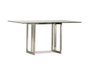 West Elm Glass Dining Table