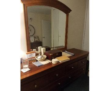 Stanley Furniture Dresser w/ Mirror