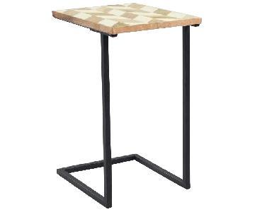 World Market Herringbone Laptop Table