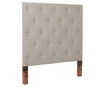 West Elm Queen Headboard