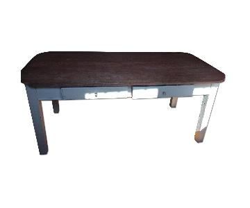 ABC Carpet and Home Antique Farmhouse Dining Table