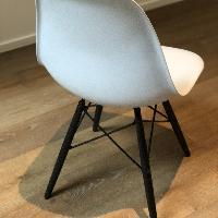 Eames Molded Plastic Dowel-Leg Side Chair (DSW)