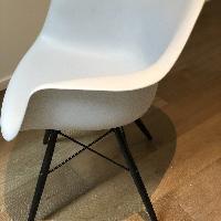 Eames Molded Plastic Dowel-Leg Armchair (DAW)