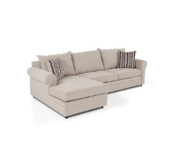 Bob's Venus 2-Piece Sectional sofa