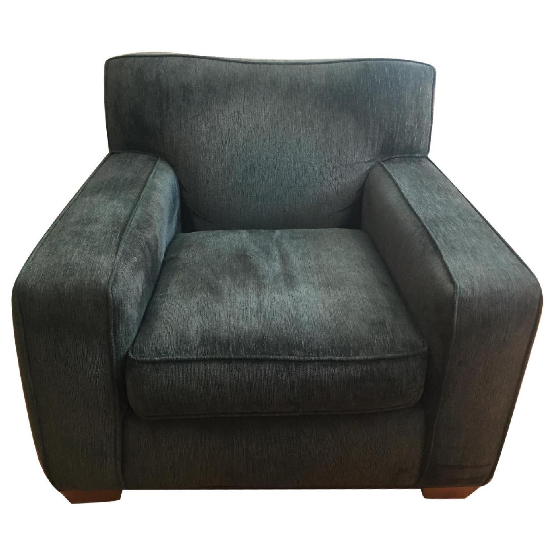 Crate & Barrel Home Gear Club Chair