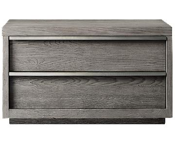 Restoration Hardware Bezier Closed Nightstand